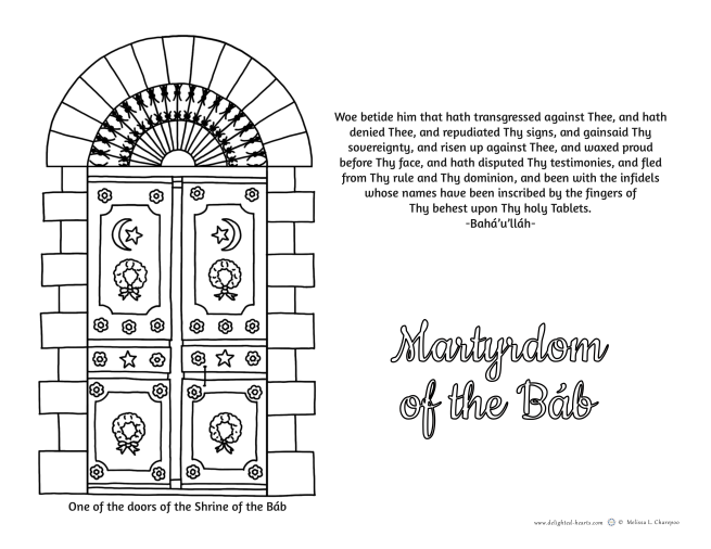 175_DHLLC_Melissa Charepoo_Coloring Page_Martyrdom of the Bab.png