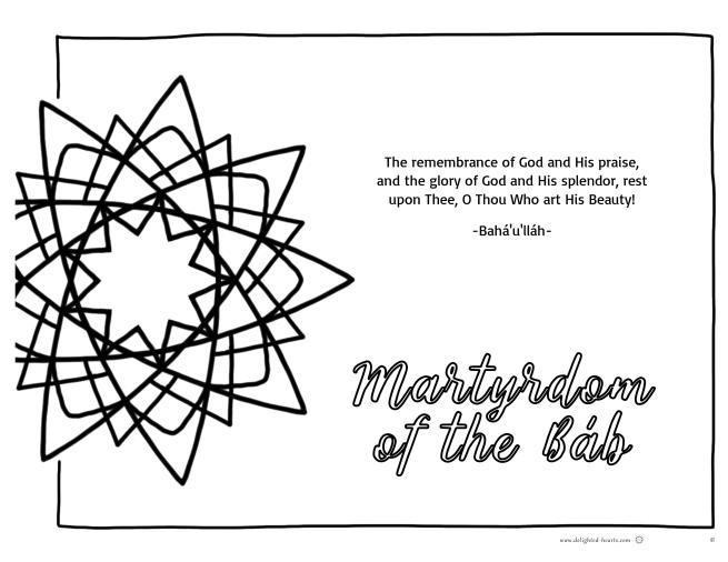 Marthyrdom_177_DHLLC_Melissa Charepoo_Martyrdom of the Bab_NinepointedStar